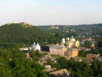 Кременець, вид на Кременецький ліцей та гору Бона