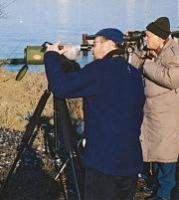 Американский и украинский бедвотчеры на днестровском лимане
