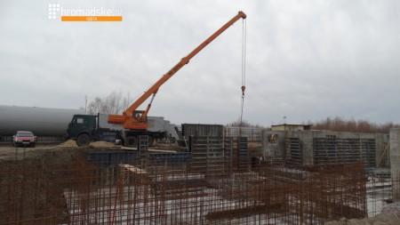 Нове будівництво на території заповідника