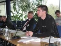 журналіста Національного радіо Сергія Хомінського особливо зацікавила доповідь про легальність походження деревини