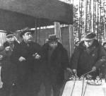 Брєжнєв і Шелест після вдалого полювання в Заліссі