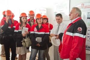 журналісти України та Молдови на Карпатнафтохімі