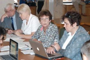 зправа наліво: Голубовська-Онісімова, Єришева, Тимочко