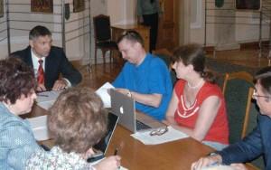зліва направо: Мірошніченко, Листопад, Цигульова, Клітко