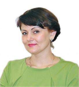 В. о. голови Державного агентства водних ресурсів України Ірина Овчаренко.