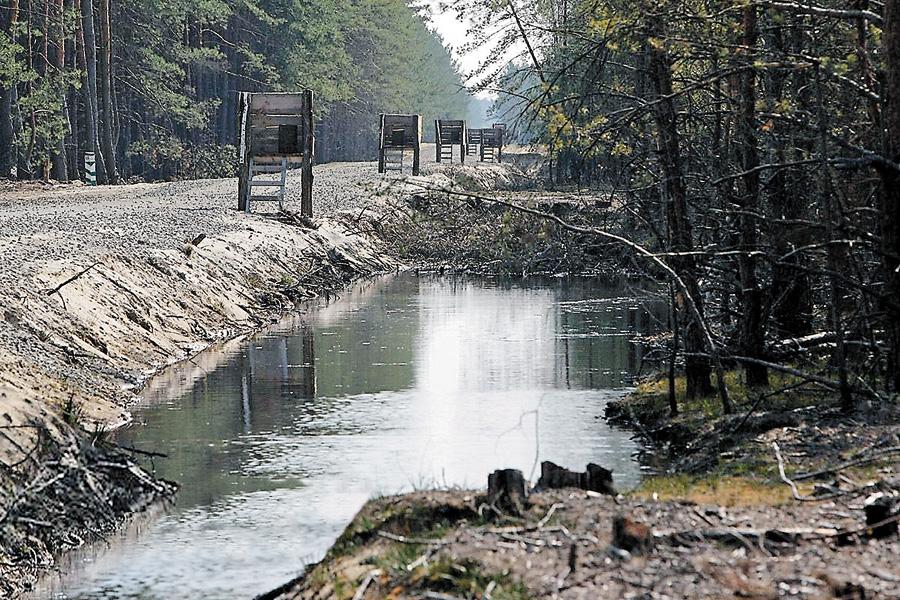 на території Сухолуччя було 800 мисливських вишок