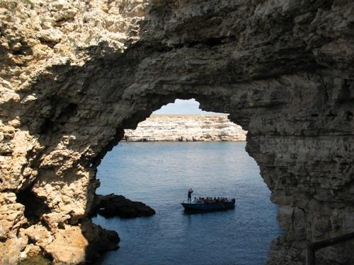 """Рис. 2. Символом національного парку """"Чарівна гавань є арка Великого Атлешу, Фото Парнікоза І.)."""